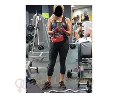 Mi nombre es Alisson, instructora de Fitness. Mujer madura de 40 años con muy buen cuerpo.