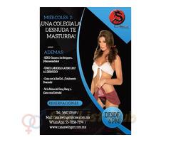 Miércoles 2 en CSW: ¡Una Colegiala Desnuda te MASTURBA!