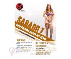 Sábado 7 en CSW: ¡TÚ, tu Pareja y una Stripper!