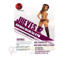 Jueves 12 en CSW: ¡Una Stripper te MASTURBA frente a TODOS!