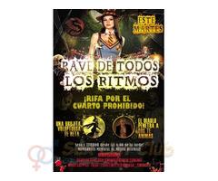 Martes 31 en CSW: ¡Rave De Todos Los Ritmos!