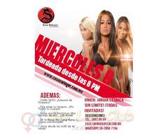 Miércoles 8 en CSW: ¡Orgía Lésbica SIN Límite!