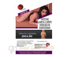 Jueves 23 en CSW: ¡Lame El Cuerpo Desnudo De Karensísima!
