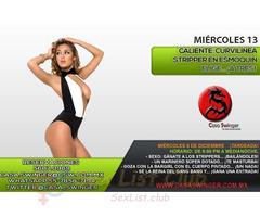 Miércoles 13 en CSW: Curvilínea Stripper en Esmoquin elige... ¡A TRES