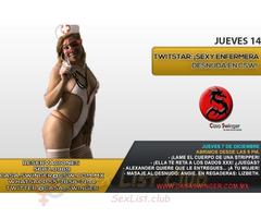 Jueves 14 en CSW: ¡Sexy Enfermera Desnuda En Csw!