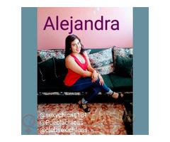 Alejandra muy joven y sensual