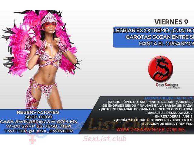 CASA SWINGER ¡Carnaval en Hilo Dental!