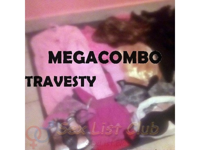MEGACOMBO TRAVESTY EN MÉXICO VISTETE YA